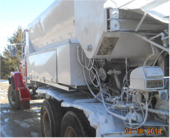 1974 Daffin 8yd Mobile Volumetric Concrete Mixer for Sale