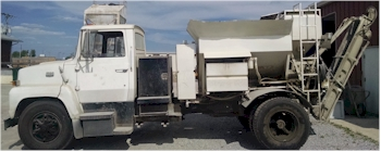 Used 3 yard Elkin Mobile Volumetric Mixer for Sale