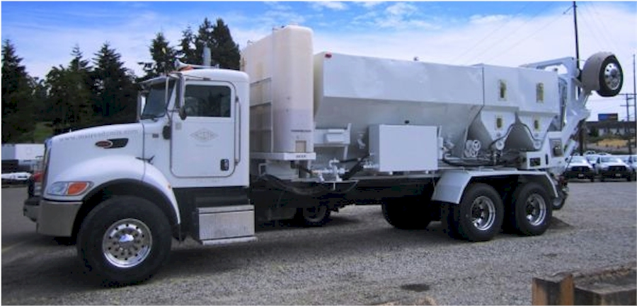 Used Cemen Tech MCD10-150 mounted on 2007 Peterbilt 337 for Sale