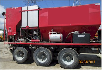 2008 Zimmerman 10yd Mobile Volumetric Latex Concrete Mixer