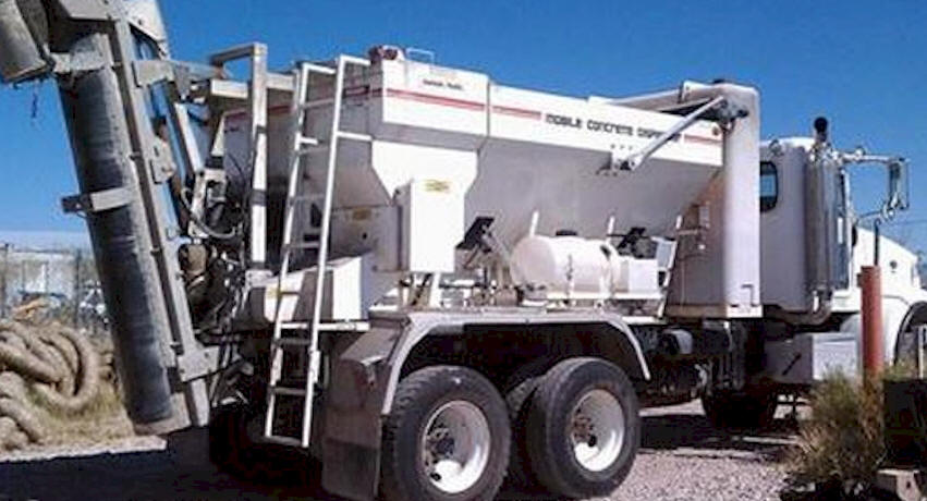 Used Cemen Tech Mobile Concrete Mixer for Sale by Owner