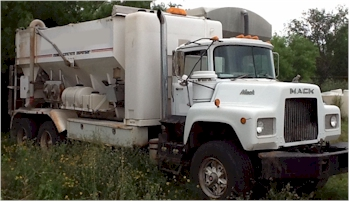 2006 Cemen Tech MCD10-150 on 1985 Mack DM
