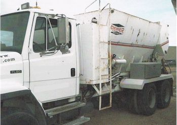 Used 1994 Reimer 10yd Mobile Volumetric Concrete Mixer for Sale