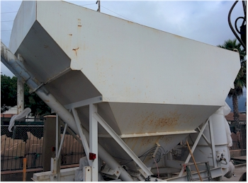 Used Belgrade 200 Barrel Low Profile Portable Cement Silo for Sale