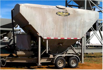 Used 200bbl lo-pro cement silo for sale