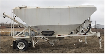 Used 39ton Low Profile Portable Cement Silo for Sale