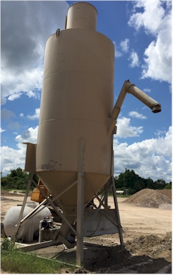 Used Belgrade 270bbl 1080 cubic foot cement silo for sale