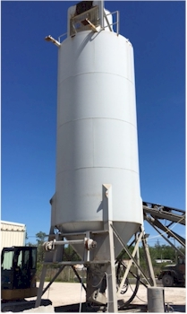 550 bbl Belgrade Portable CEment Silo for Sale