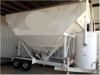 Used Cemen Tech 200bbl Cement Silo for Sale