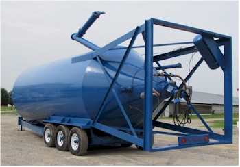 Elkin 300bbl, 1200 cu.ft Cement Silo for Sale