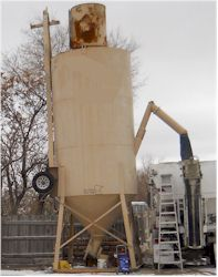 Portable Cement Silo for Sale