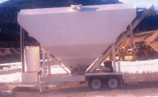 Used 200bbl MTW lo-pro Portable Cement Silo for Sale