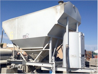 200bbl Belgrade Cement Silo for Sale